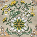 Flowers (cross stitch chart download)