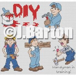 DIY (cross stitch chart download)