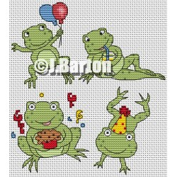 Party frogs (chart download)