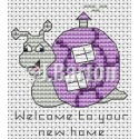 Welcome to your new home cross stitch chart