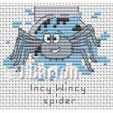 Incy wincy spider cross stitch chart
