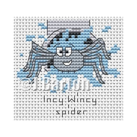 Incy wincy spider (cross stitch chart download)