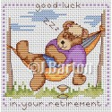 Good luck in your retirement cross stitch chart