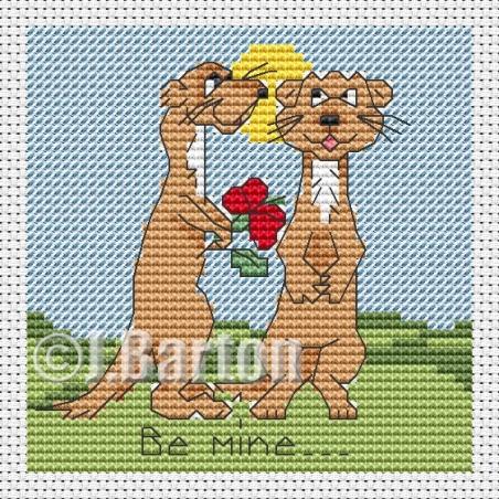 Be mine (cross stitch chart download)