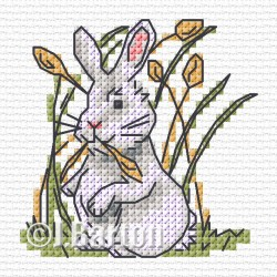 Rabbit (cross stitch chart download)