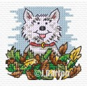 Autumn playtime cross stitch chart