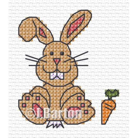 Bunny (cross stitch chart download)