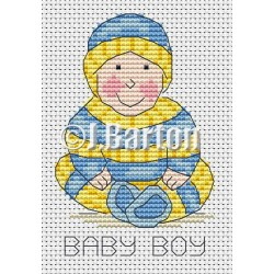 Baby boy (cross stitch chart download)