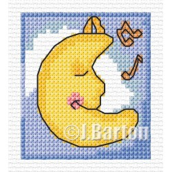Lullaby moon (cross stitch chart download)