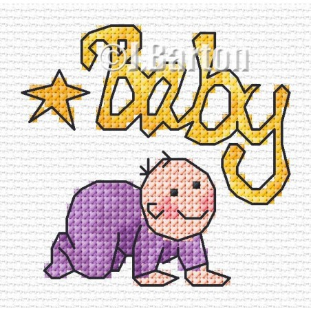 Baby (cross stitch chart download)