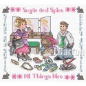 Sugar and spice cross stitch chart