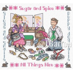Sugar and spice (cross stitch chart download)