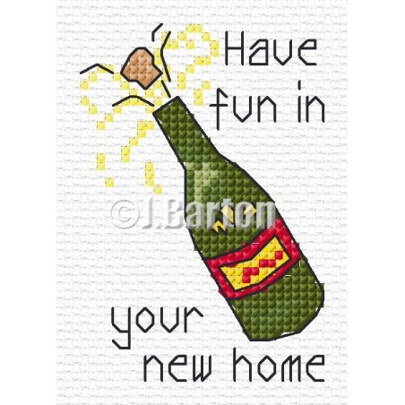 Fun in your new home (cross stitch chart download)