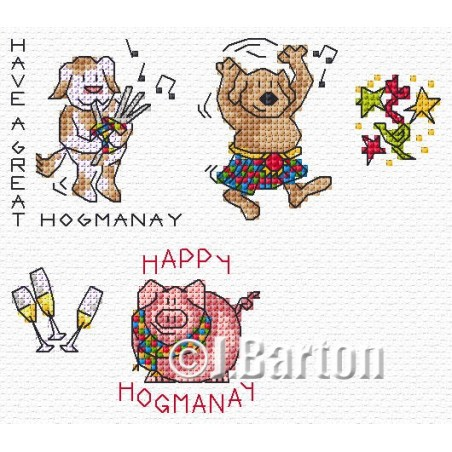 Hogmanay (cross stitch chart download)