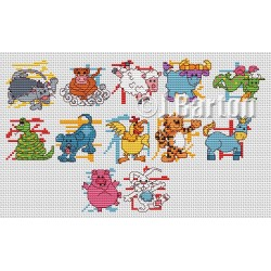 Chinese New Year (cross stitch chart download)