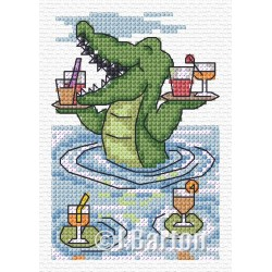 Make it snappy! (cross stitch chart download))
