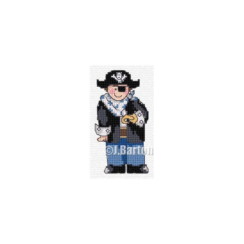 Pirate (cross stitch chart download)