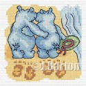 Footprints in the sand (cross stitch chart download)