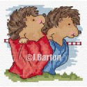 Sack race (cross stitch chart download)