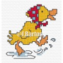 Puddle playtime (cross stitch chart download)