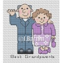 Best grandparents (cross stitch chart download)