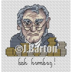 Bah humbug! (cross stitch chart download)