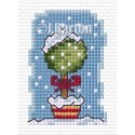 Christmas topiary (cross stitch chart download)