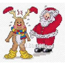 Silly Rudolph (cross stitch chart download)