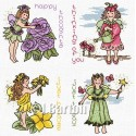 Fairy greetings (cross stitch chart download)