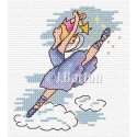 ballet dancing fairy cross stitch chart