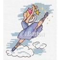 ballet dancing fairy cross stitch chart