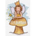 fairy rest time cross stitch chart