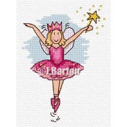 Pretty fairy (cross stitch chart download)