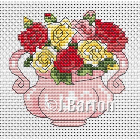 Roses (cross stitch chart download)