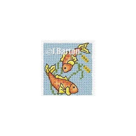 Koi Carp (cross stitch chart download)