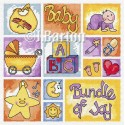 Baby sampler cross stitch chart