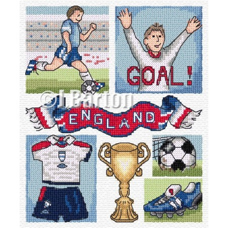 Football (cross stitch chart download)