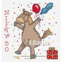 Nifty 50 cross stitch chart