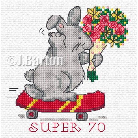 Super 70 (cross stitch chart download)