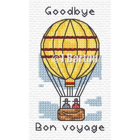 Bon voyage (cross stitch chart download)