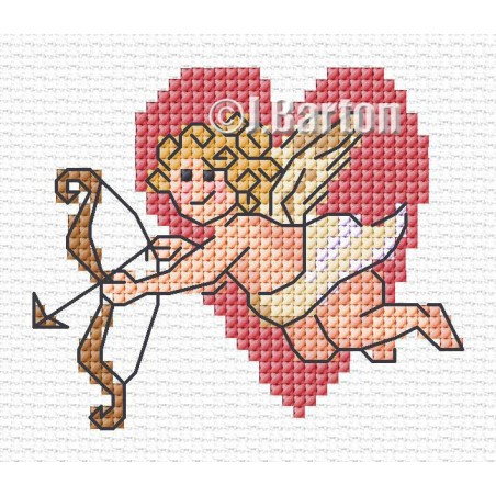 Cupid (cross stitch chart download)