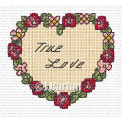 True love (cross stitch chart download)