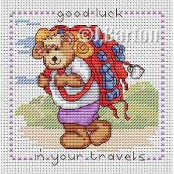 Good luck in your travels cross stitch chart