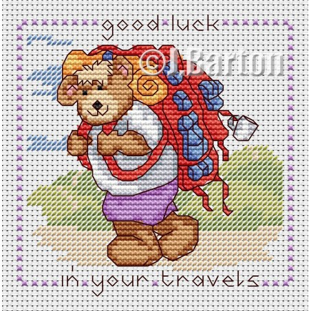 Good luck in your travels (cross stitch chart download)