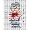 Best grandma cross stitch chart