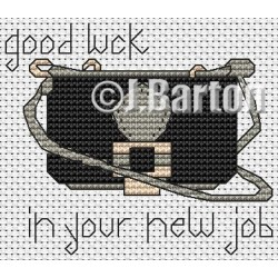 Good luck in your new job (cross stitch chart download)