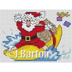 Banana boat madness (cross stitch chart download)