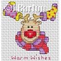 Warm wishes cross stitch chart