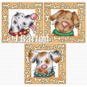 Fun dogs cross stitch chart