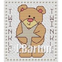 Twinkle twinkle (cross stitch chart download)